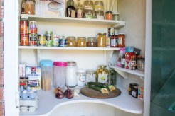 My pantry makeover + kitchen storage ideas